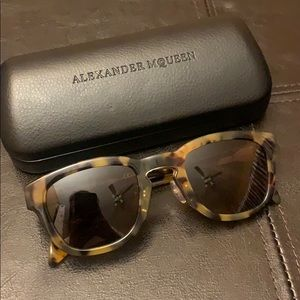 Alexander McQueen Sunglasses w/ Case